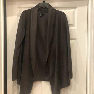 Cynthia Rowley Cardigan sweater draped front SizeM